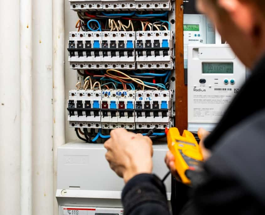 Elektriker servicere El-tavle